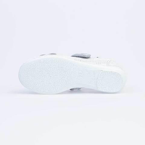 Туфли текстильные белые   Котофей (ТОК Урал)