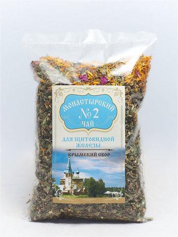 Чай Монастырский №2 для щитовидной железы, 100 гр. (Крымский сбор)