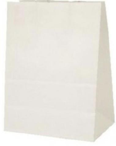 Пакеты бумажные фасовочные 220х120х290 мм