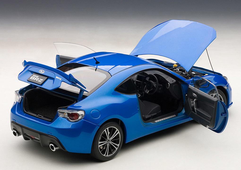 Коллекционная модель Subaru BRZ RHD 2012 Blue