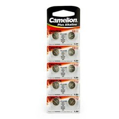 Батарейки Camelion AG 12 / 10 BL