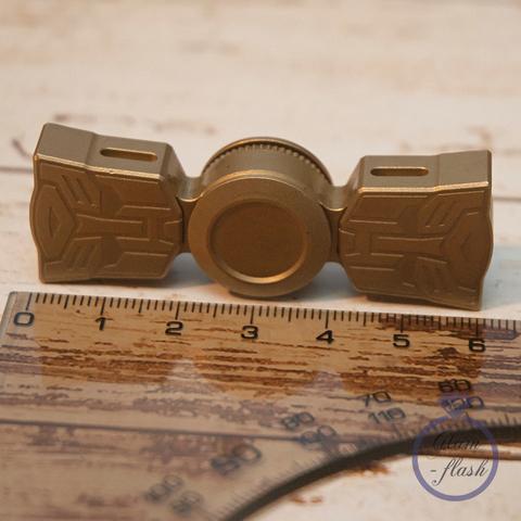 Спиннер металлический двухлучевой