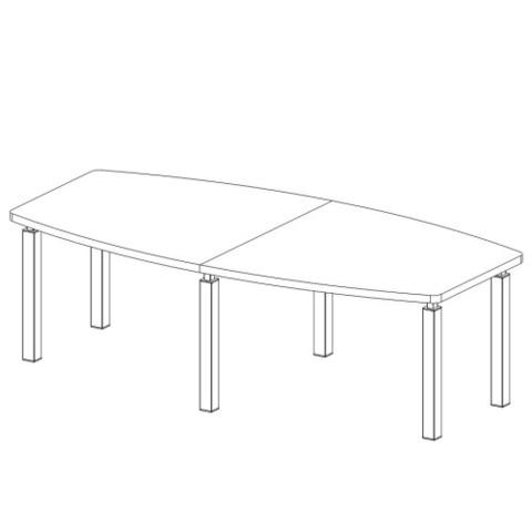 Стол прямой  2600 мм (MULTIMEETING)