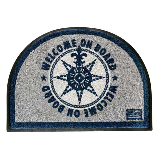 NON-SLIP MAT – WELCOME ON BOARD BLUE, WELCOME