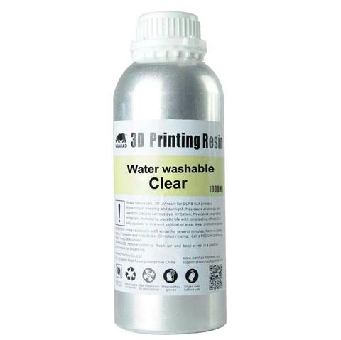 Фотополимер Wanhao Water washable, прозрачный (1 л)