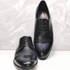 Классика туфли мужские натуральная кожа Ikoc 2249-1 Black Leather.