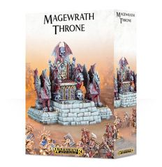 Magewrath Throne. Коробка
