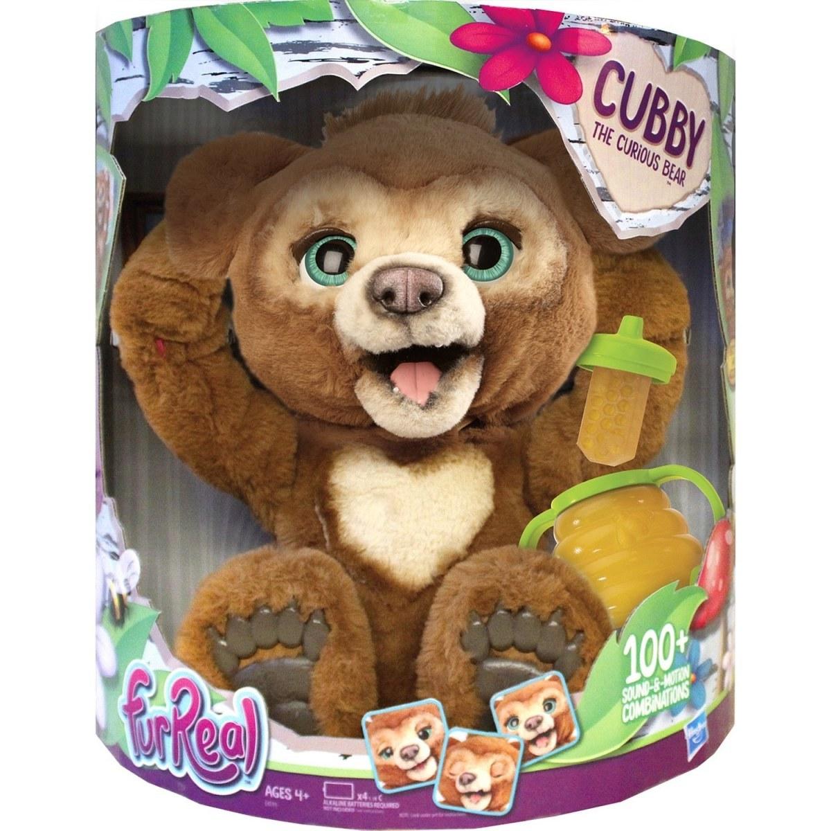 FurReal интерактивный русский мишка Кабби