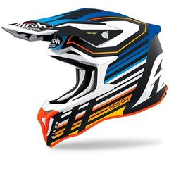 Кроссовый шлем Airoh Strycker BLUE MATT размер M (57-58)
