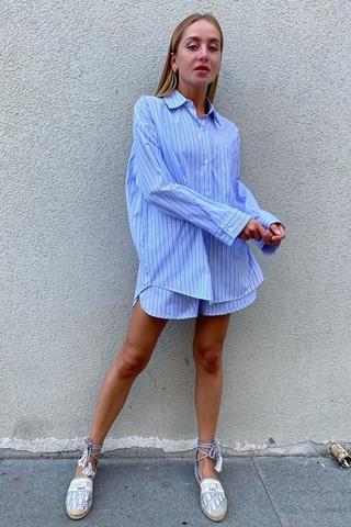 Пижамный костюм с шортами