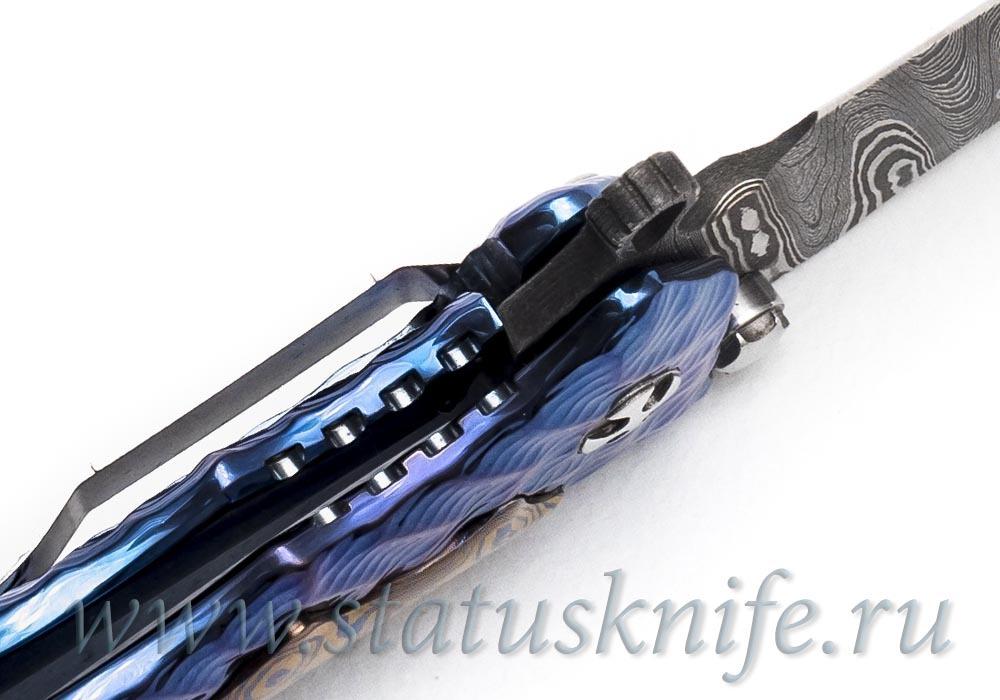 Нож GUN HAMMER DAMASCUS Кастом - фотография