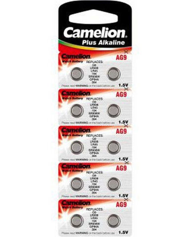 Батарейки Camelion AG 9 / 10 BL