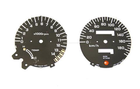 Шкалы приборной панели для Honda CB 400 без датчика бака 92-95