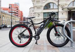 Велогибрид Benelli Fat Nerone (с ручкой газа)