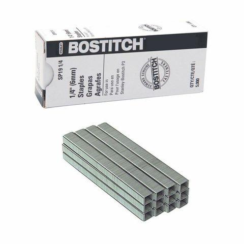Скобы для степлера BOSTITCH P3 (5000шт./кор.)