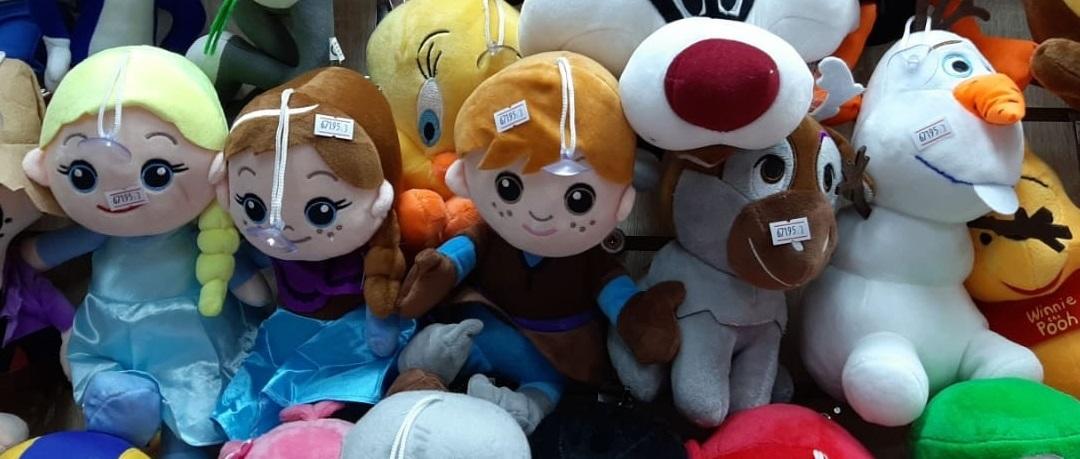 Набор Холодное Сердце мягкие игрушки 5 шт 25 см
