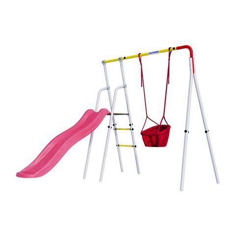 Детский спортивный комплекс для дачи ROMANA Лето (Качели малыш)
