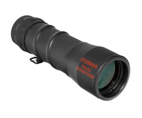 Монокуляр STURMAN 14x32, черный - фото 1