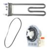 Ремкомплект для стиральной машины Bosch/Siemens/Siltal (ремень+насос+тэн)