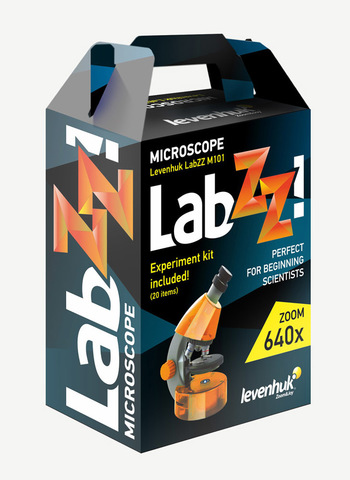 Микроскоп Levenhuk LabZZ M101 Amethyst / Аметист