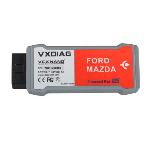 Автосканер VXDIAG VCX NANO (Ford, Mazda)