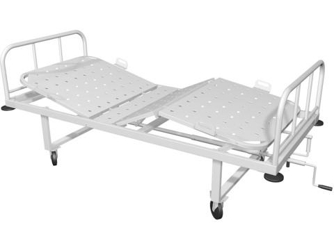 Кровать медицинская КМ-04 - фото