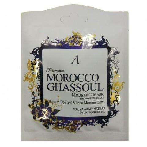 Маска альгинатная от расширенных пор (саше) Anskin PREMIUM Morocco Ghassoul Modeling Mask / Refill 25гр