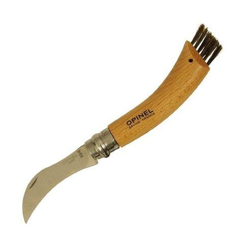 Нож грибника Opinel №8, рукоять бук, коробка