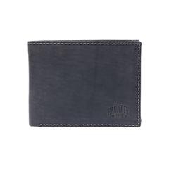 Бумажник Klondike Yukon, черный, 12,5х3х9,5 см