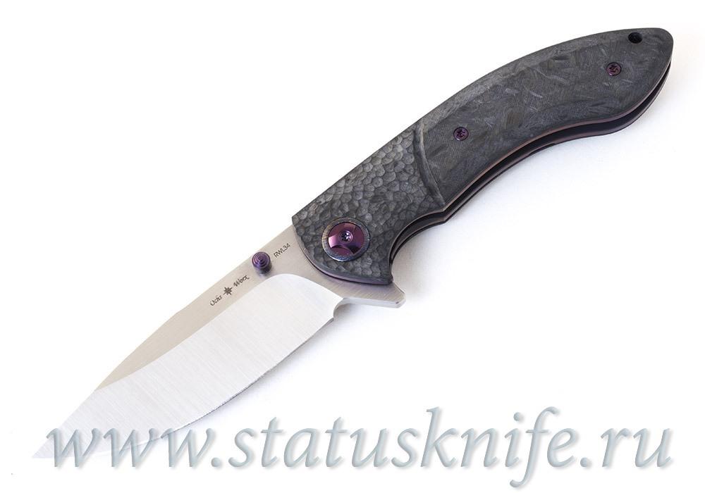 Нож Eric Ochs Orca Titanium Purple accent
