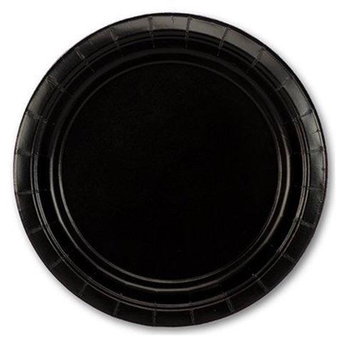 Тарелка Jet Black 17см 8шт/A
