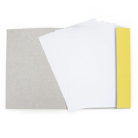 Папка для рисования Каляка-Маляка (А4, 10 листов, 160 г/м2), ПРКМ-А4/10