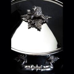 Кастрюля 20см (3,5л), крышка с посеребренной декорированной ручкой, RUFFONI Opus Prima арт. G20 Ruffoni RUFFONI
