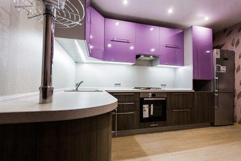 Кухня угловая по индивидуальным размерам
