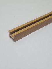 Верхняя направляющая для двери-гармошка, длина 84 см, цвет Груша