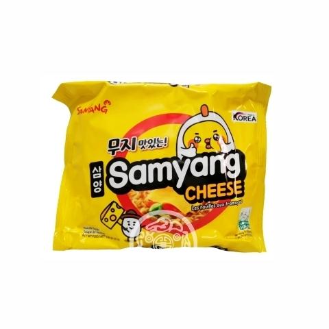 Лапша б/п Samyang Cheese со вкусом сыра  120г Samyang Корея