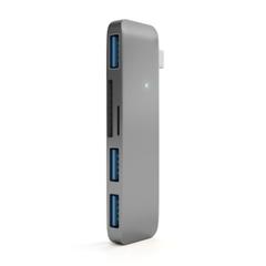 USB-хаб  Satechi USB-C USB Hub для Macbook, серый