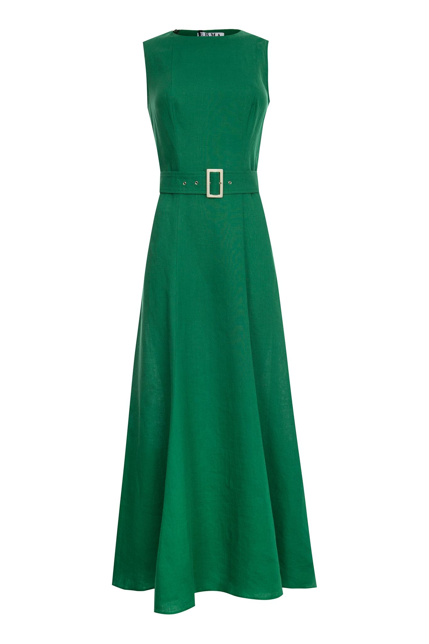 Платье изо льна (SS0270)