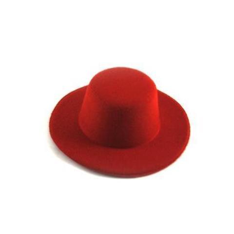Шляпа  для игрушек красная 10см
