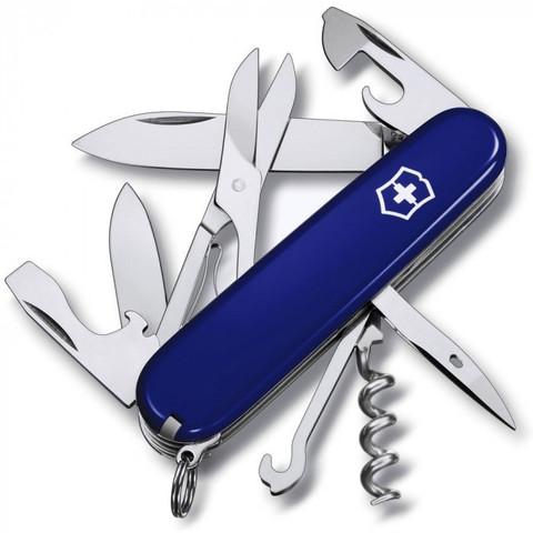 Нож складной Офицерский Victorinox 1.3703.2 Climber, синий