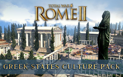 Total War : Rome II - Greek States Culture Pack DLC (для ПК, цифровой ключ)