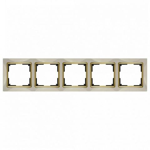 Werkel Рамка WL03-Frame-05 слоновая кость GD