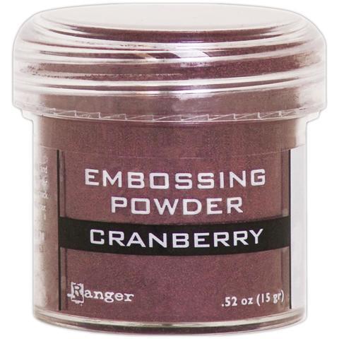 Пудра для эмбоссинга Ranger Embossing Powder -Cranberry Metallic