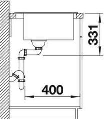 Мойка Blanco Pleon 6 схема