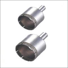 Коронка алмазная по кафелю и стеклу СТК-041 (D=18-38мм)