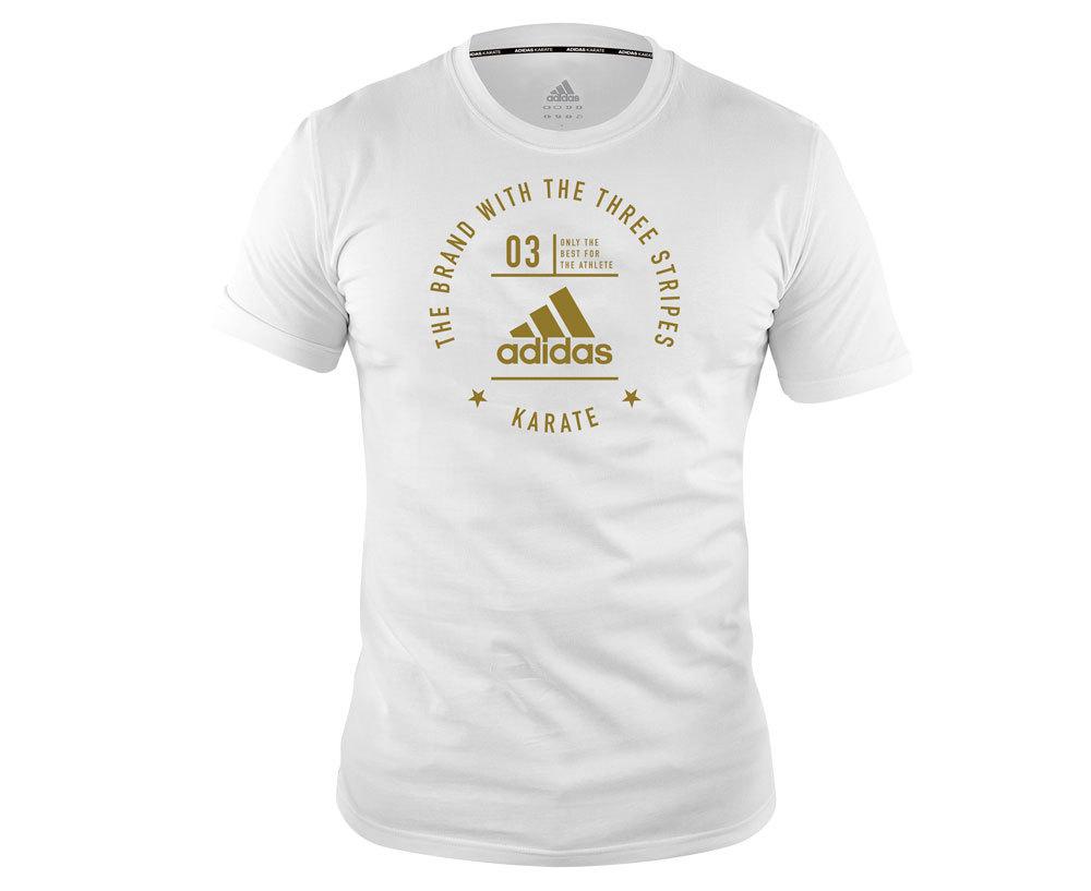 Одежда Футболка The Brand With The Three Stripes T-Shirt Karate futbolka_the_brand_with_the_three_stripes_t_shirt_karate_belo_zolotaya.jpg