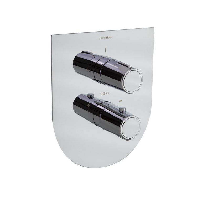 Встраиваемый термостатический смеситель для душа TZAR 342411S на 1 выход