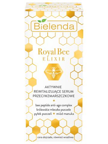 ROYAL BEE ELIXIR Активно восстанавливающая сыворотка для лица против морщин, 30мл