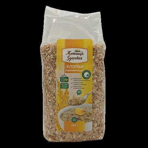 Хлопья Пшеничные ЖИТНИЦА ЗДОРОВЬЯ, 400 гр