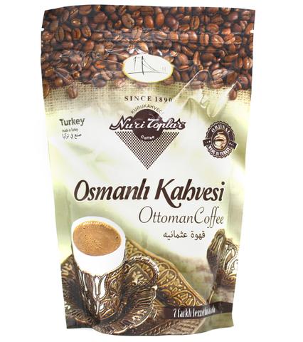 Османский кофе Osmanli Kahvesi, Nuri Toplar, 250 г